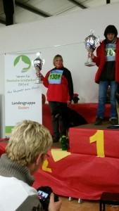 Unsere Landessiegerin Uli Sammet konnte auch bei der Bundes-FH punkten und den Titel der Vizemeisterin nach Württemberg holen