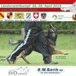 7-Länderwettkampf 2019 beim SVÖ OG Ohlsdorf vom 26. bis 28.04.2019