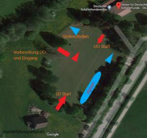 Ablaufplan LG-FCI in Albershausen ergänzt