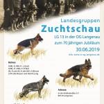LG-Zuchtschau 2019 bei der OG Langenau