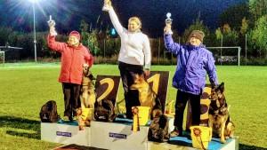 Ein weiterer Erfolg im Sportbereich - die Vizesiegerin im Bereich Obedience bei der BSP in Bad Staffelstein kommt aus unserer LG