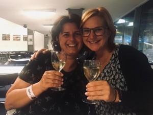WUSV-WM-Agility in Randers / Dänemark - Das Gläschen haben sich beide verdient