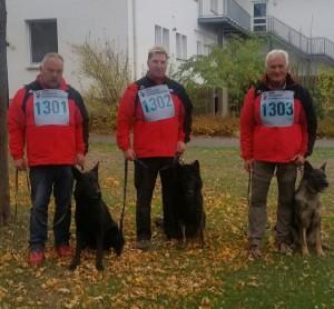 Erfolgreiche Teilnehmer der diesjährigen BFH in Paderborn am vergangenen Wochenende