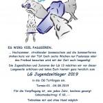 Landesgruppenjugendzeltlager 2019 vom 01.-04.08.2019 bei der OG Tuttlingen