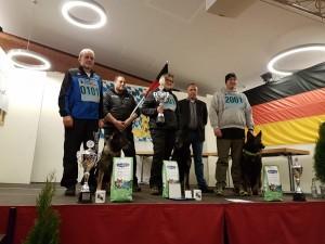 Einen tollen Erfolg feiern die beiden Starter der LG bei der Bundes-FH 2019 - Gratulation an die Bundessiegerin Ulrike Sammet