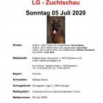 LG-Zuchtschau 2020 bei der OG Aldingen am 05.07.2020